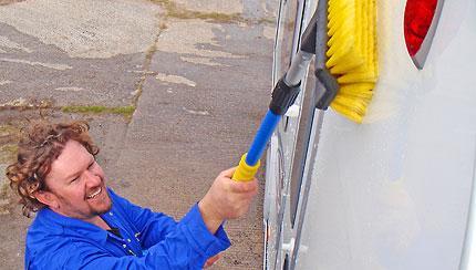 Caravan Cleaning Service