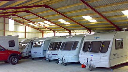 CaSSOA gold rated caravan storage site