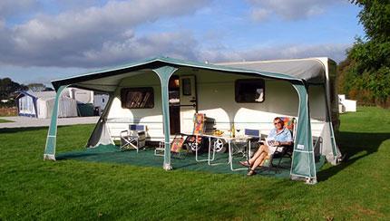 Carnon Downs Caravan Park Cornwall