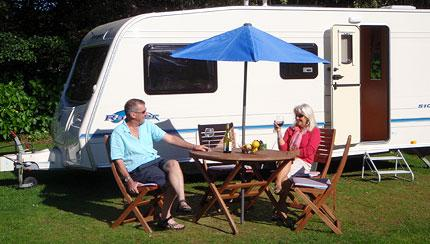 Family run business with 14 years experience in the touring caravan industry