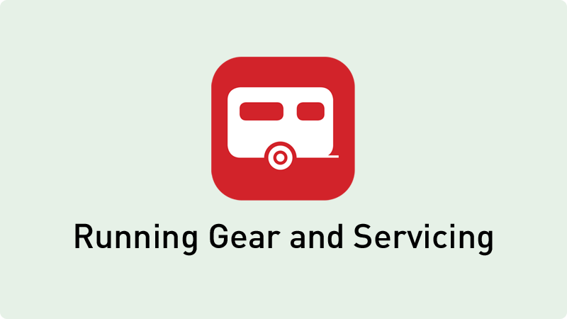 Touring Caravan Running Gear and Servicing