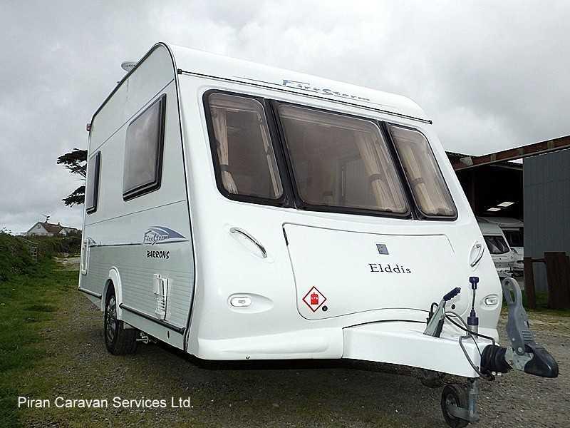 Elddis Firestorm  Touring Caravan