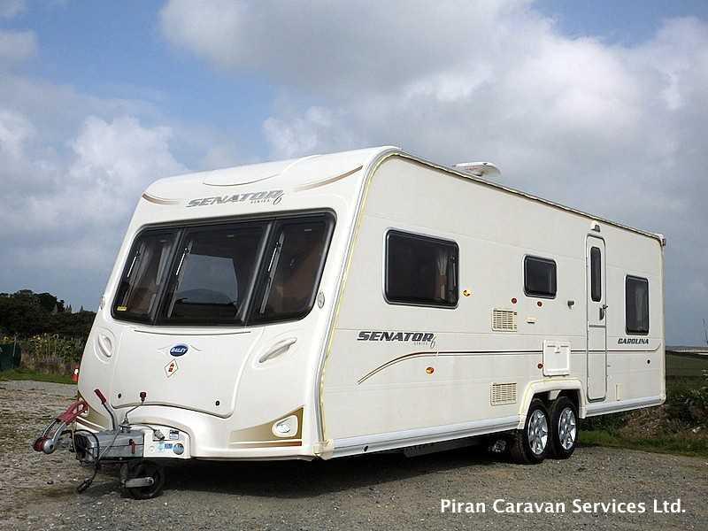 Large Touring Caravan