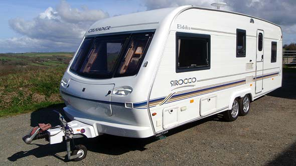 Touring caravans for sale in cornwall